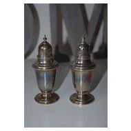 Vintage Gorham Sterling Silver Salt & Pepper Shakers