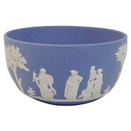 Wedgwood Blue Jasperware Bowl
