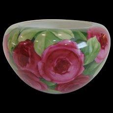 1922 Rosenthal Lavish Roses Vase Jardiniere Selb Bavaria