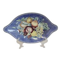 Mottahedeh Vista Alegre Apples Berries & Cherries Oval Dish