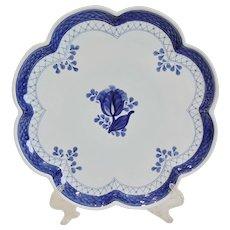 Royal Copenhagen Tranquebar Scalloped Cake Plate