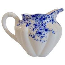 Shelley Dainty Blue Creamer