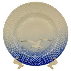Bing & Grondahl Seagull Gold Trim Large Dinner Plate
