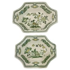 Two Mason's Manchu Sweet or Candy Dishes