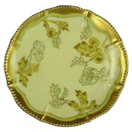 Bawo & Dotter Elite Works Limoges Plate, Artist Signed