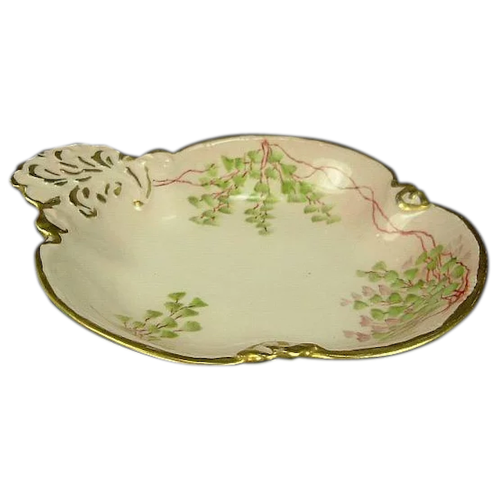 Gda Limoges Porcelain Shell Serving Dish Antiques On Ascot Ruby Lane