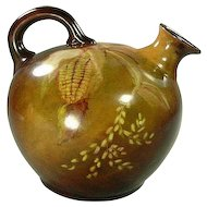 Hand Painted Bavaria Corn Ball Jug Pitcher c. 1900
