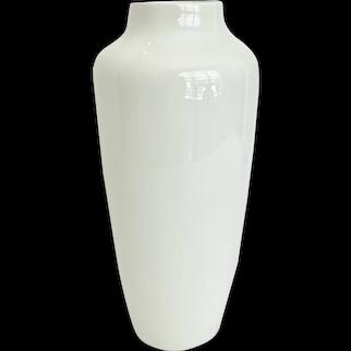 Antique Giraud Limoges White Porcelain Vase