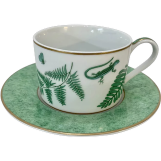 Lynn Chase Fern Fantasy Cup and Saucer