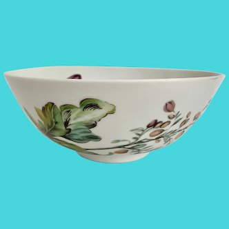 """Mottahedeh The Exotic Plant 8"""" Round Bowl"""