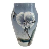 Royal Copenhagen Hand Painted Flower Vase