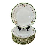 Set of 10 Richard Ginori Vecchio Dinner Plates