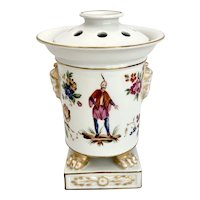 Mottahedeh Lowestoft Chinese Export Bough Pot Historic Charleston
