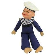Vintage Norah Wellings Sailor Doll SS Statendam