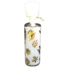 Libbey Golden Foliage Liquor Bottle with Dispenser