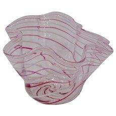 Pairpoint Zanfirico Filigrana Fazzoletto Vase