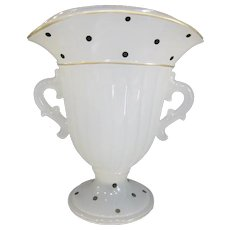 Beaumont Ferlux Art Deco Polka Dot Vase