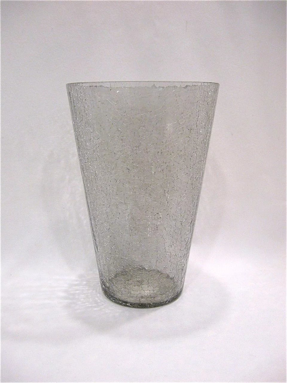 Large blenko crackle glass vase antiques on ascot ruby lane large blenko crackle glass vase click to expand reviewsmspy