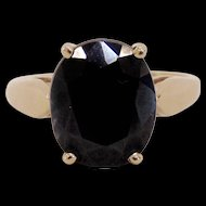 4.1 Carat Sapphire Ring in 14K Gold