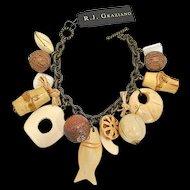 R. J. Graziano Tiki Beach Charm Bracelet