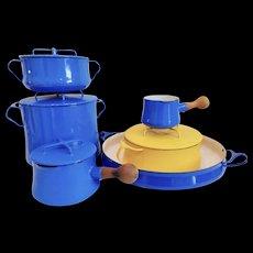 Mid Century Set of Dansk Kobenstyle Cookware