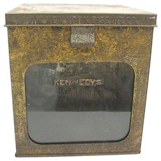 Antique New York Biscuit Company Counter Display Box