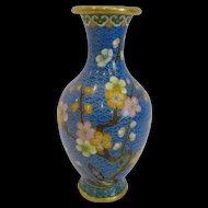 Cloisonne Cabinet Vase