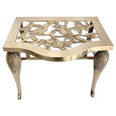 Brass Fireplace Hearth Trivet