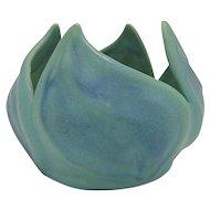 Van Briggle Pottery Turquoise Tulip Vase