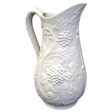 Portmeirion British Heritage Parian Porcelain Pitcher Jug