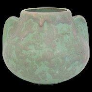 Arts & Crafts Art Vellum Vase by Brush-McCoy