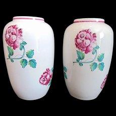 Pair of Tiffany & Co Strasbourg Flowers Vases