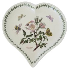 Portmeirion Botanic Garden Heart Shaped Dish