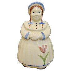 Vintage Shawnee Dutch Girl Jill with Tulip Cookie Jar