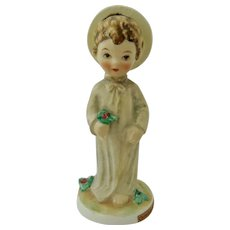 Goebel Christ Child with Holly Figurine