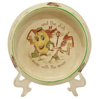 Brentleigh Baby Ware by Pam Hey Diddle Diddle Feeding Dish