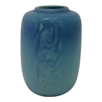 1920s Rookwood Pottery Blue Vase