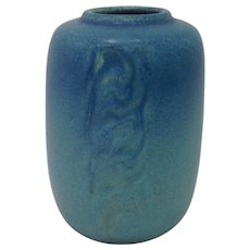 1920s Rookwood Pottery Blue Vase