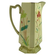 Elegant Pre-1884 English Majolica Pitcher