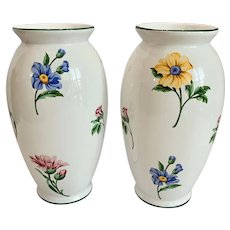 Pair Tiffany & Co Sintra Flower Vases