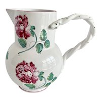 Tiffany & Co Large Strasbourg Flowers Pitcher