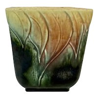 Mid Century Hull Pottery Pillow Vase