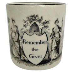 Mottahedeh Creil Mug Remember The Giver