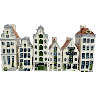 6 Royal Goedewaagen Poly Delft Amsterdam Houses
