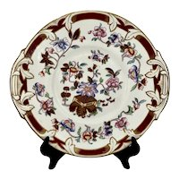 Mid 1800s GF Bowers Staffordshire Scinde Cake Plate