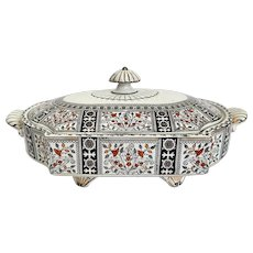 Brownhills Pottery Staffordshire Candahar Covered Tureen