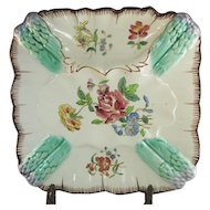 Longchamp French Majolica Asparagus Plate