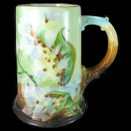American Belleek Tankard Mug CAC Ceramic Art Company