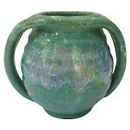 A R Cole Rainbow Pottery Apothecary Jar