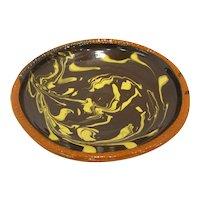 Historic Williamsburg Slipware Dish